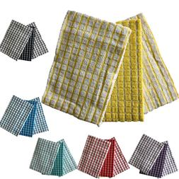 100% Cotton 3 Pack of  Tea Towels For Kitchen Dish Towel Dry