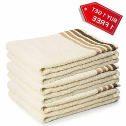 3 Pack Luxury Soft Cotton Towels Set for Gym Spa Face Hand T