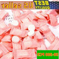 50-500x Compressed Towels Tablet Face Towel Coin Tissue Home