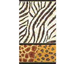 "Animal Prints Guest Paper Towels | 16 Ct. | 4"" x 7"""
