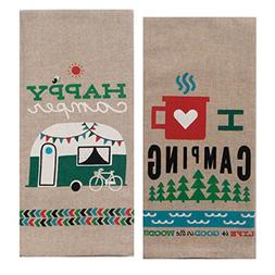 Kay Dee Designs Camping Adventures Chambray Towel Set - One