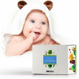 Baby Hooded Towel- 100% Organic Bamboo Baby Towels with Hood