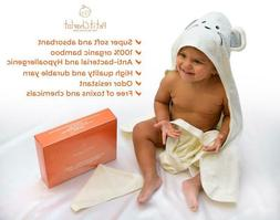 baby hooded towel bamboo toddler hooded bath