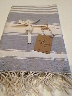 Clearance!!! New Scents And Feel Handwoven Striped Fouta Bea