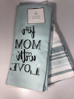 """Deborah Connolly Mother's """"For Mom """" Kitchen Dish Towe"""