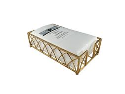 Gold Guest Towel Napkin Holder Caddy and Everyday Bathroom G