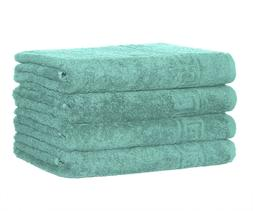 Hand Towel Large 16* 28 Inch Cotton Absorbent 4pc Pack By Co