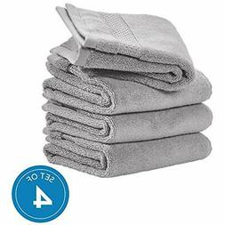 IDesign Spa Hand Towels With Hanging Loop, 100% Cotton Soft