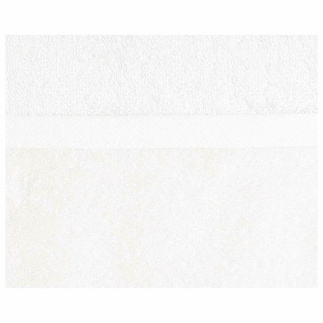 12 Bright Cotton Towels Absorbent