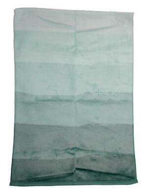 3d rose mint green abstract stripes twl