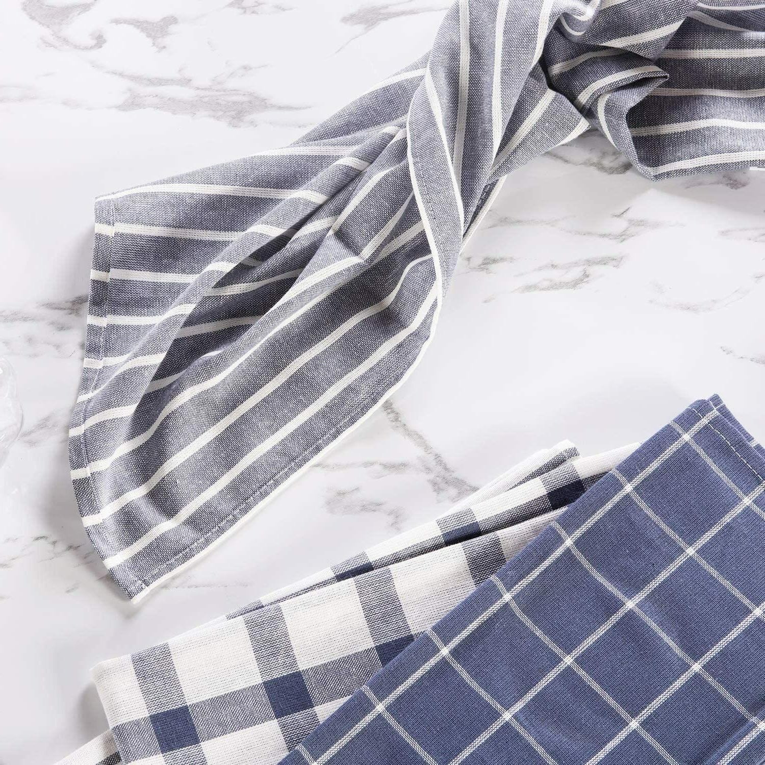 5 Dish Cotton Towel For Cooking Baking