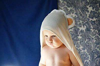 Organic Hooded Towel Infant  Toddler  Baby