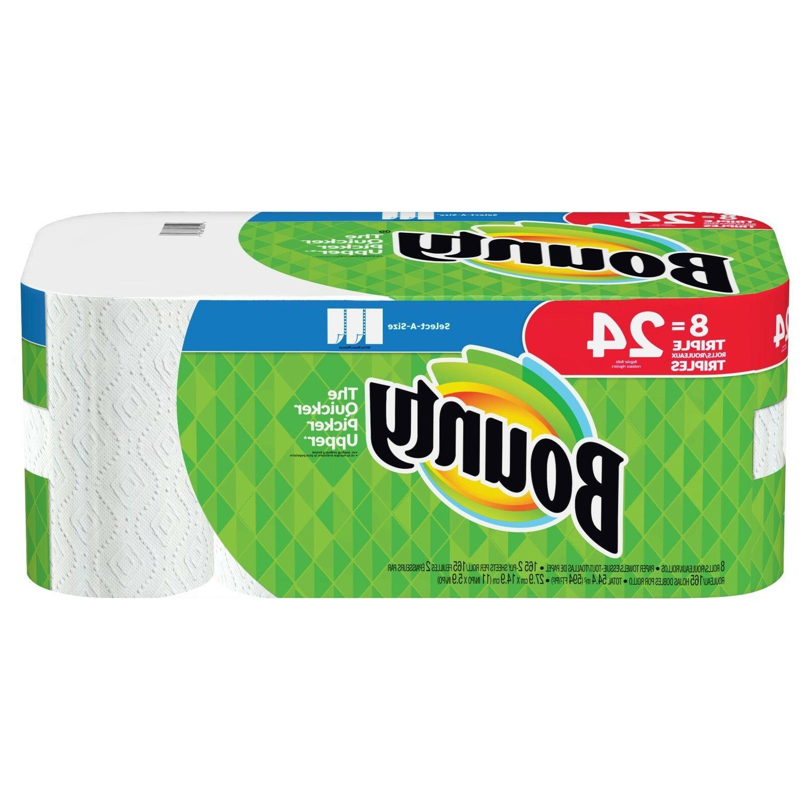 Bounty Select-A-Size Paper Towels Choose the may