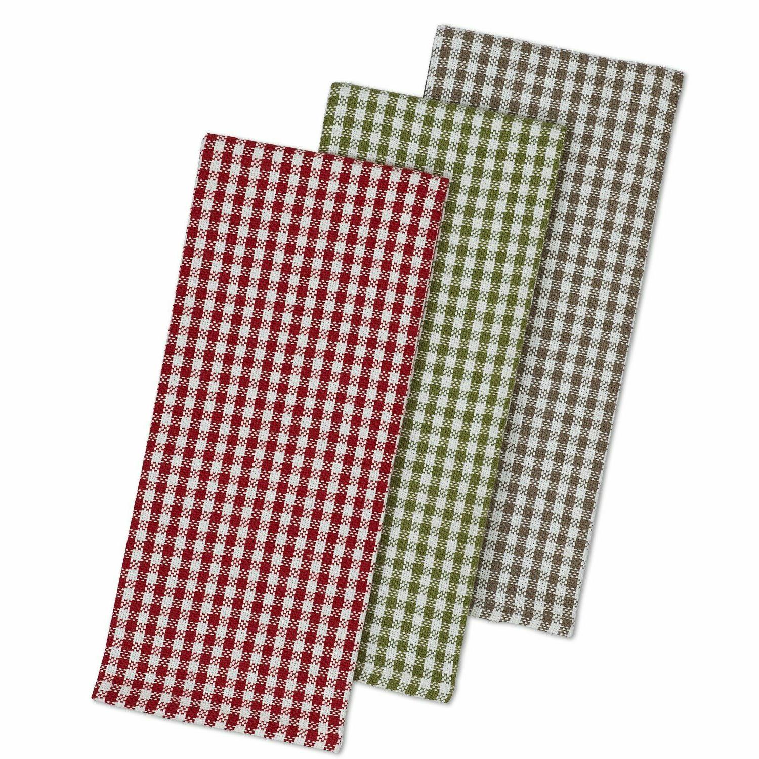orchard heavy weight dishtowels set of 3