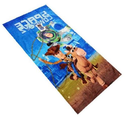 toy story cotton beach towel