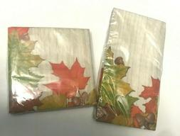Lot of 2 Paper Dinner Napkins Guest Towels/Beverage Party Fa