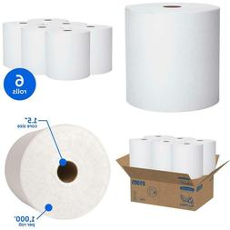 Scott Essential High Capacity Hard Roll Paper Towels , White